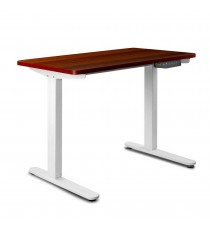 Height Adjustable Desk - Walnut Top