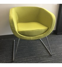 Havana Sofa Chair - Lime