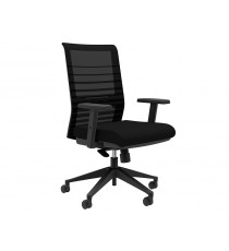 Lucky Mesh Back Chair - CLEARANCE - Black Only