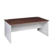 Open Desk 1800L x 750D - Walnut / White