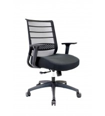 Friday Mesh Back Chair - CLEARANCE - Black Only