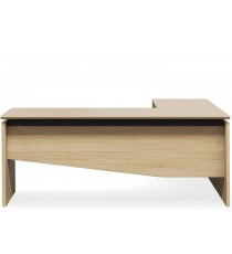 Outliner Executive Desk and Return - Any Standard Finish
