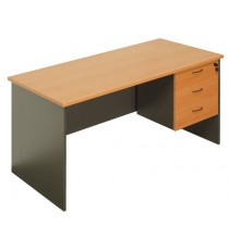 Office Desk 1500L with Drawers