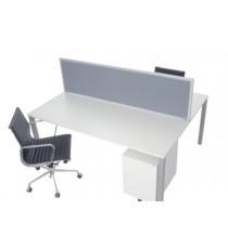 50mm Double Desk