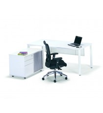 50mm Frame Single Desk 1800L x 750D