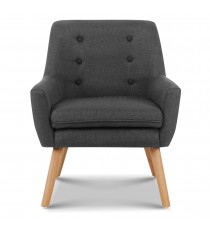 Tub Chair / Arm chair - Charcoal