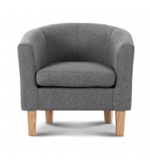 Tub Chair / Arm chair - Light Grey