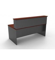 Reception Desk / Counter - Dark Cherry